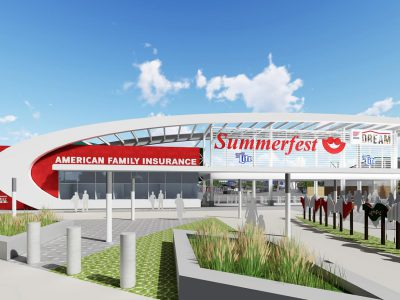 Milwaukee World Festival Inc. to Construct New North Entry Gate and Plaza