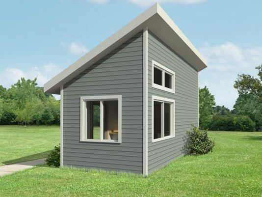 Tiny House. Rendering from Gorman & Co.