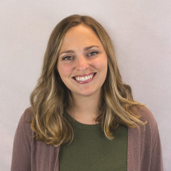 Iowa native Joy Benning has advanced to the role of senior associate at the MorganMyers Waterloo, Iowa, office. Benning helps her Illinois Soybean Association client connect with Chicago consumers and legislators. Photo courtesy of MorganMyers, Inc.