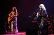 Sarah Lee Guthrie and Arlo Guthrie. Photo by Erol Reyal ©.