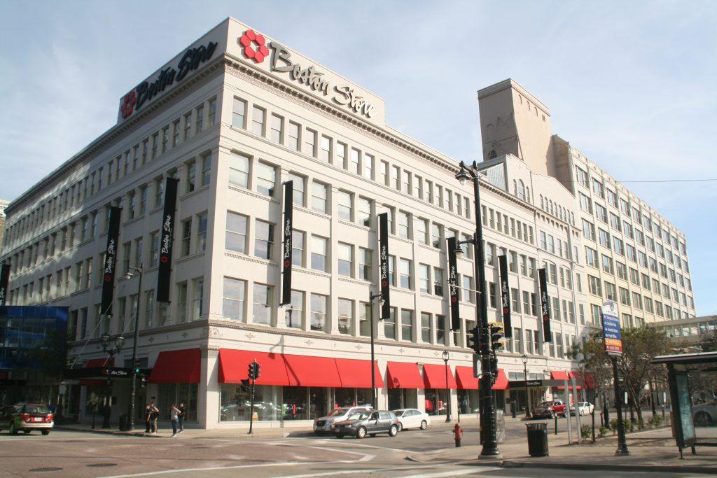 Boston Store Building. Photo by Jeramey Jannene.