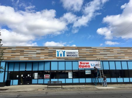 Community Warehouse recently opened a new retail outlet on Milwaukee's North Side. Photo by Elliot Hughes.