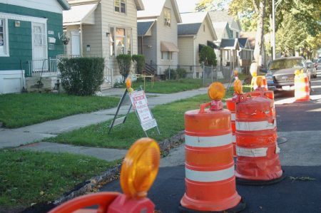 More than 70,000 lead water service lines provide water to residents of Milwaukee homes built before 1951. Photo by Edgar Mendez.