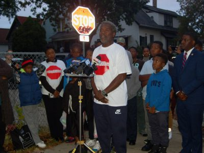 North Side Leaders Plead for Safe Driving