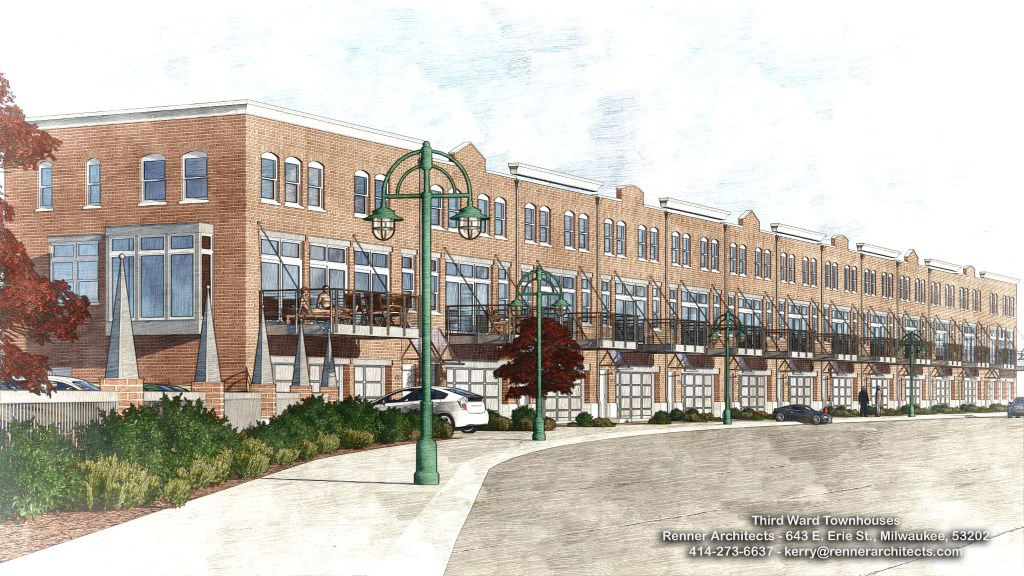 The Third Ward Lofts. Rendering by Renner Architects.