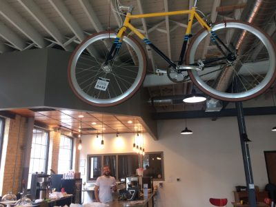 Velobahn Coffee & Cycle Now Open