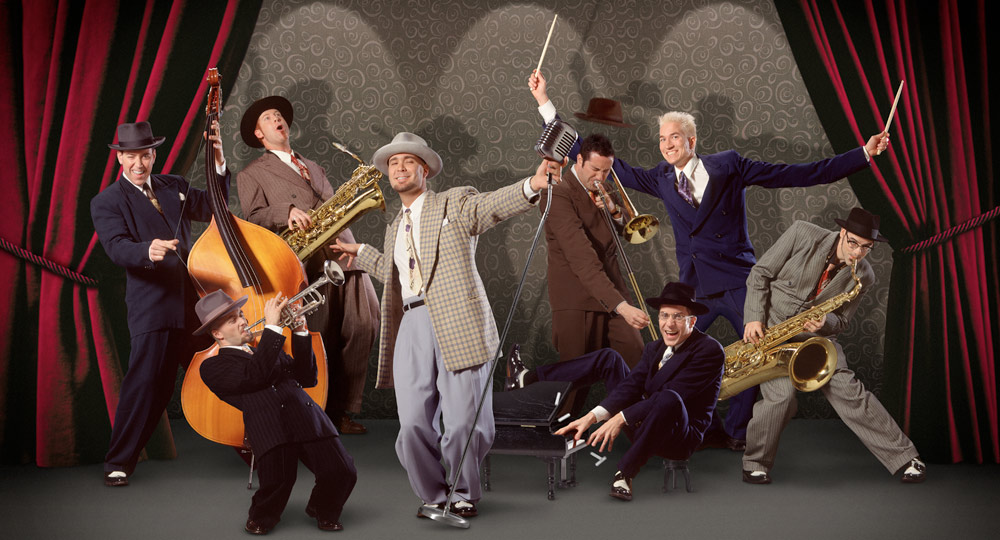 South Milwaukee Performing Arts Center presents Big Bad Voodoo Daddy: <em>Wild &#038; Swingin' Holiday Party</em>