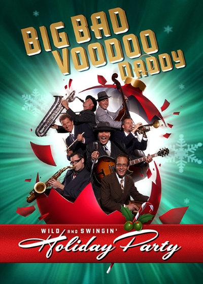 Big Bad Voodoo Daddy: Wild & Swingin' Holiday Party Thursday