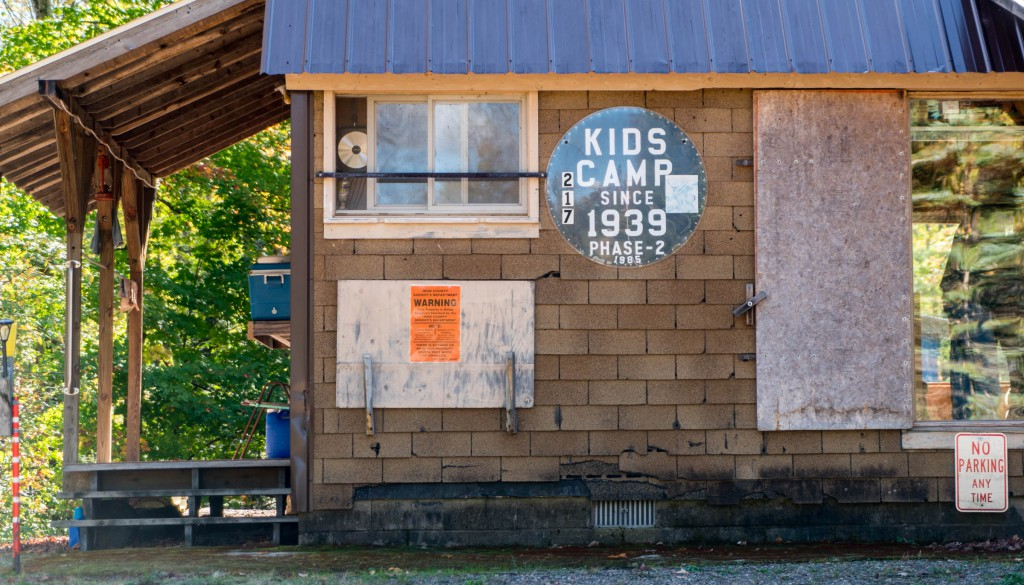 Kids Camp is an family old hunting camp built in 1939. The original cabin was eaten up by porcupines the first year. This is the third (or phase two) cabin, built in a slightly different location.
