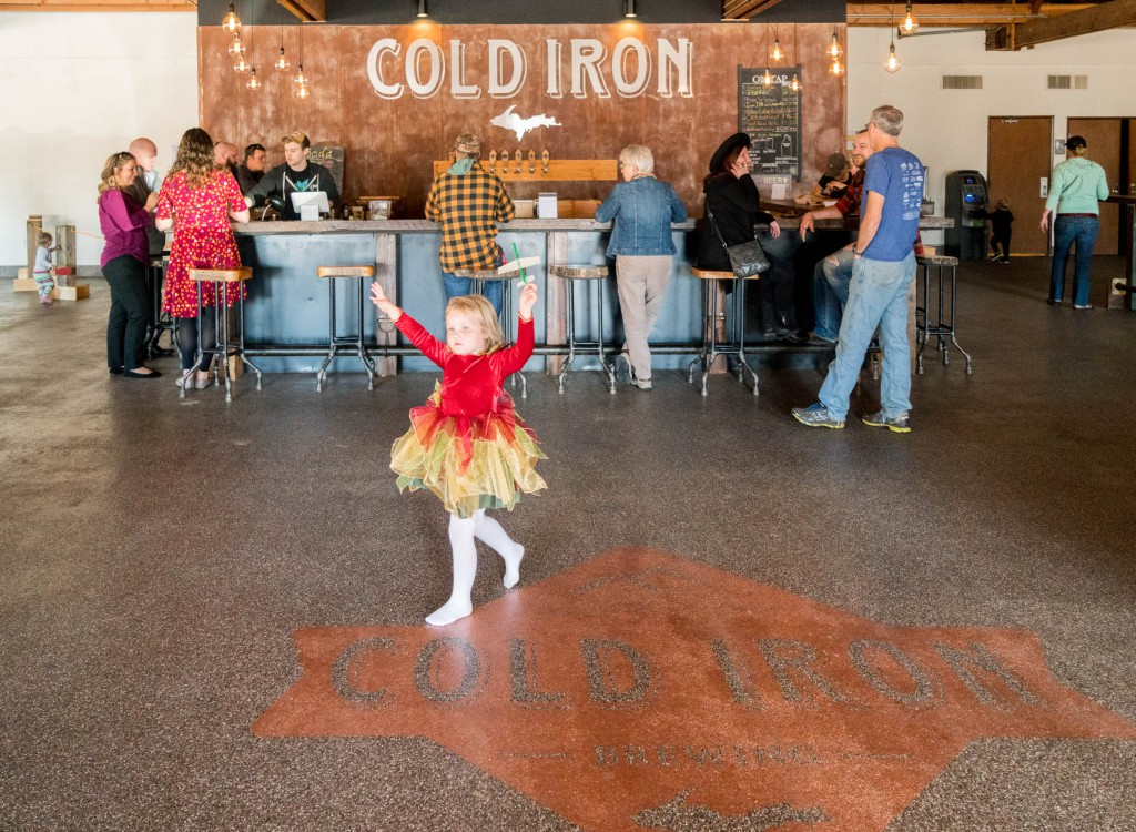 Cold Iron is kid and dog friendly.