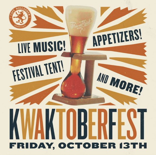 Kwaktoberfest at Cafe Hollander Downer