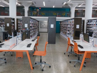 New Library Embraces the Future