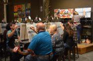 Splash Session at Splash Studio painting bar. Photo by Jack Fennimore.