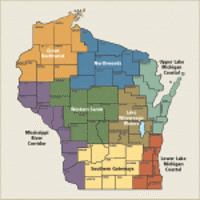 The DNR's Recreational Opportunities Analysis breaks the state into eight regions.