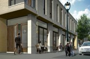 View of 1697 N. Marshall St. from the corner of Brady and Marshall looking west. Rendering by Johnsen Schmaling Architects.