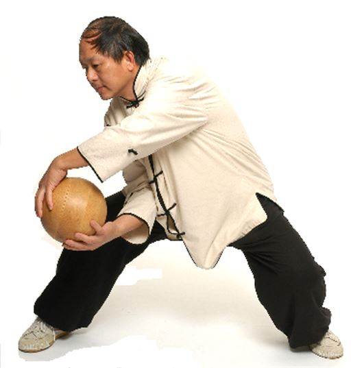 Demonstration of Tai Chi Ball Qigong (from the YMAA website, http://www.ymaawisconsin.com/ )