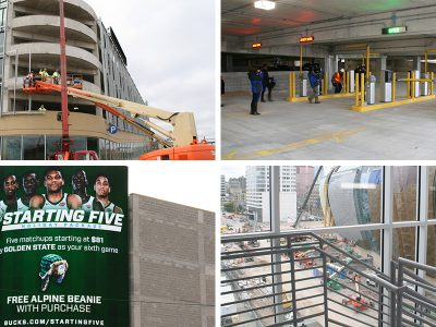 Eyes on Milwaukee: Bucks Unveil Arena Parking Garage