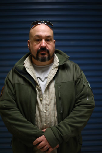 Dan Bethards was an undercover drug agent who brought allegations against former Division of Criminal Investigation Special Agent in Charge Jay Smith to state and federal authorities. He was fired in October 2013 for allegedly violating several Department of Justice rules. Bethards claims he was the victim of whistleblower retaliation. Photo by Coburn Dukehart / Wisconsin Center for Investigative Journalism.