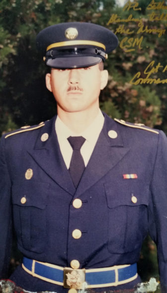 Dan Bethards had a long career in law enforcement and the military, including serving in the Iraq War, before he became a Department of Justice whistleblower in 2012. Photo courtesy of Dan Bethards.