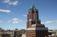 Looking west from the roof of Milwaukee City Hall. Photo by Dave Reid.