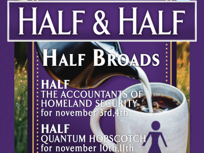 Broadminded goes dutch on their latest sketch comedy show, Half & Half