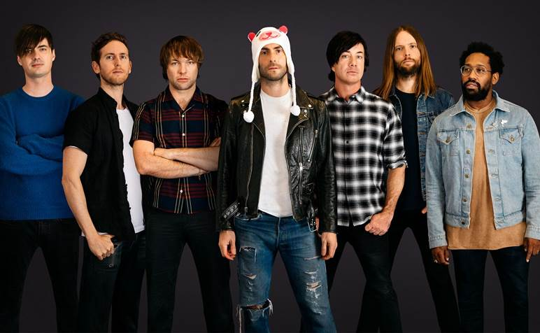 Maroon 5. Photo courtesy of the Wisconsin Entertainment and Sports Center.