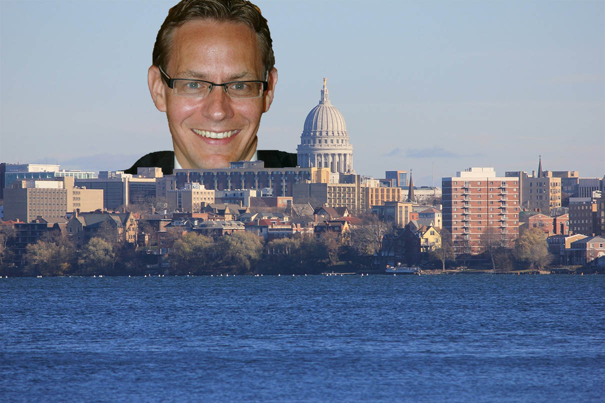 Jim Bohl and the Madison Skyline