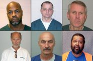The FBI has acknowledged its hair or fiber analysis was faulty in at least 13 prosecutions in Wisconsin. The bureau is conducting a nationwide review of criminal cases involving microscopic hair and fiber analysis prior to 2000, when mitochondrial DNA testing became a routine forensic practice. Pictured here are some of the Wisconsin defendants whose cases included flawed hair or fiber comparison by the FBI or the state crime lab. Clockwise from top left, Booker Shipp, Larry Fandrich, Brook Grzelak, Roy Broussard, Richard Beranek, and Patrick Greer. Photos from the Wisconsin Department of Corrections and Dane County Jail.