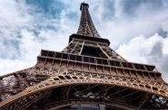 Eiffel Tower. Photo is in the Public Domain.