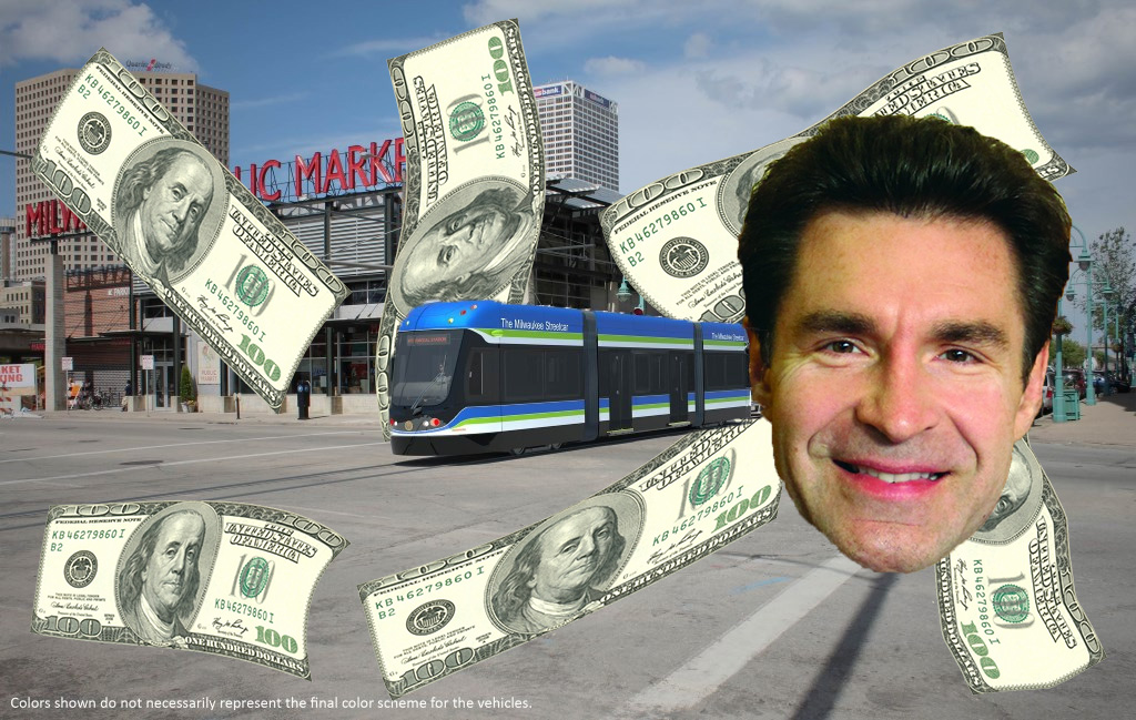 Tony Zielinski and the Streetcar.