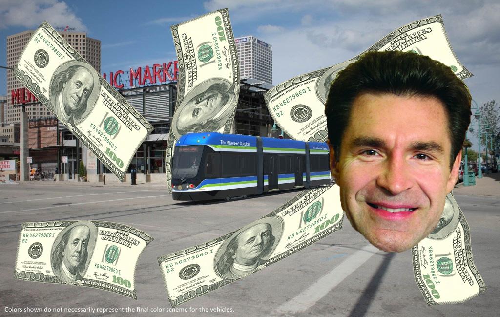 Tony Zielinski and the Streetcar.