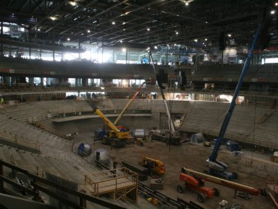 Eyes on Milwaukee: Bucks Arena 68% Complete