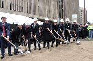 Ceremonial Groundbreaking. Photo by Erol Reyal.