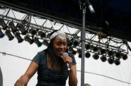 Ann Peebles performing at the Beale Street Music Festival in 2007. Photo by By Lindsey T from Memphis, Tennessee, USA (ann peebles) [CC BY 2.0 (http://creativecommons.org/licenses/by/2.0)], via Wikimedia Commons