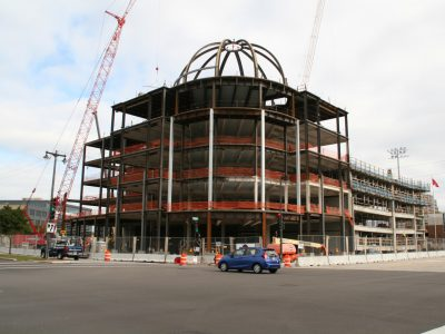 Friday Photos: Classical Dome Appears Downtown