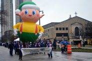 Elf balloon. Photo by Jack Fennimore.