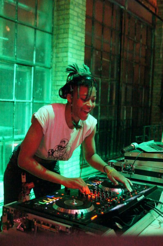 DJ DRiPSweat. Photo courtesy of Milwaukee Pride, Inc.