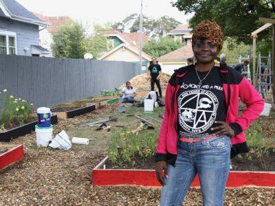 Garden Honors African American Heroes