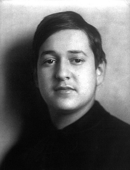 Erich Korngold. Photo is in the Public Domain.