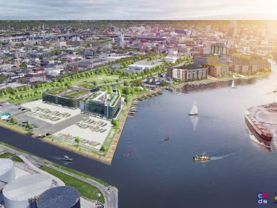 Plenty of Horne: Harbor District Plans Unveiled