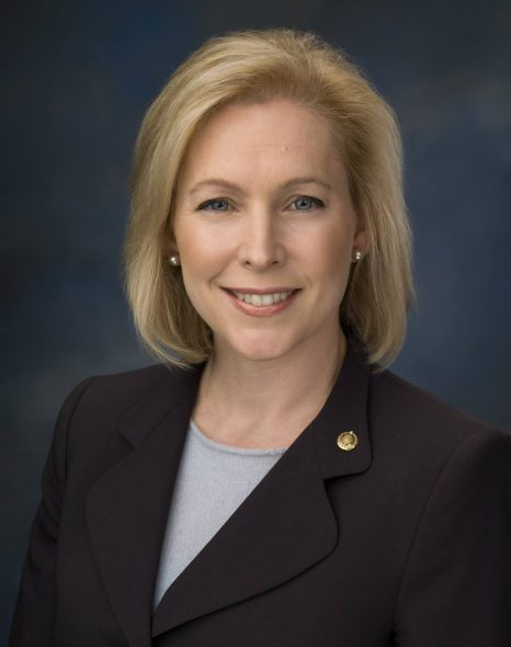 Kirsten Gillibrand. Photo from the U.S. Senate.