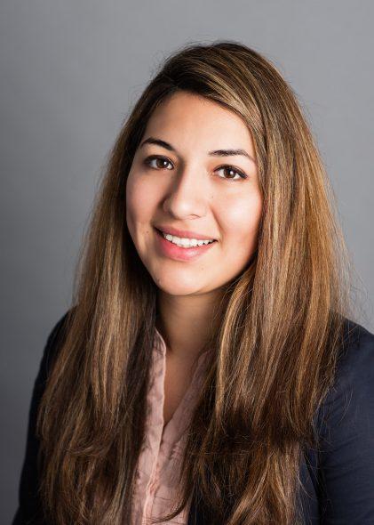 Mayra Alaniz. Photo courtesy of Mueller Communications.