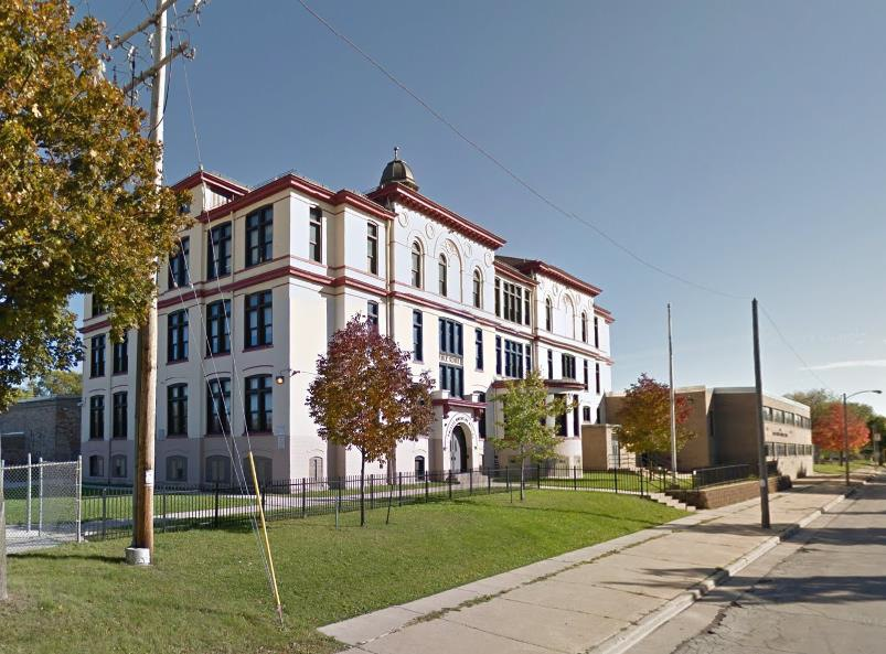 Phillis Wheatley School, 2442 N. 20th St. Photo from the City of Milwaukee.