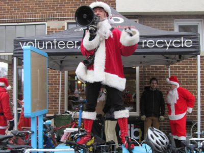 Bike Czar: Return of the Santa Rampage