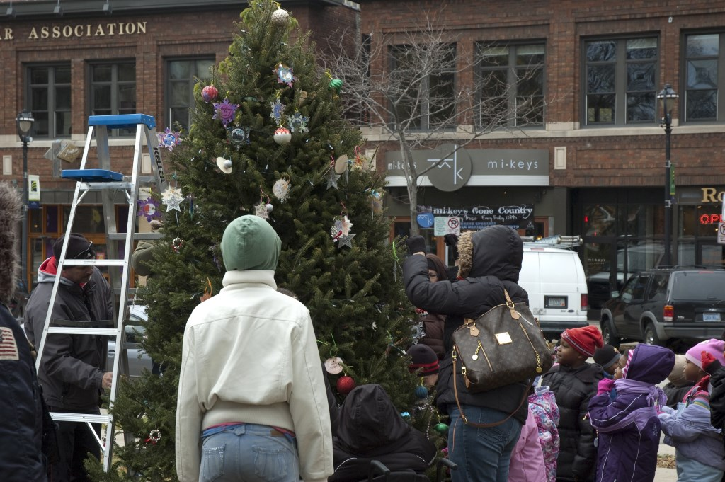 Area schools continue decorating Cathedral Square Park for Milwaukee Holiday Lights Festival