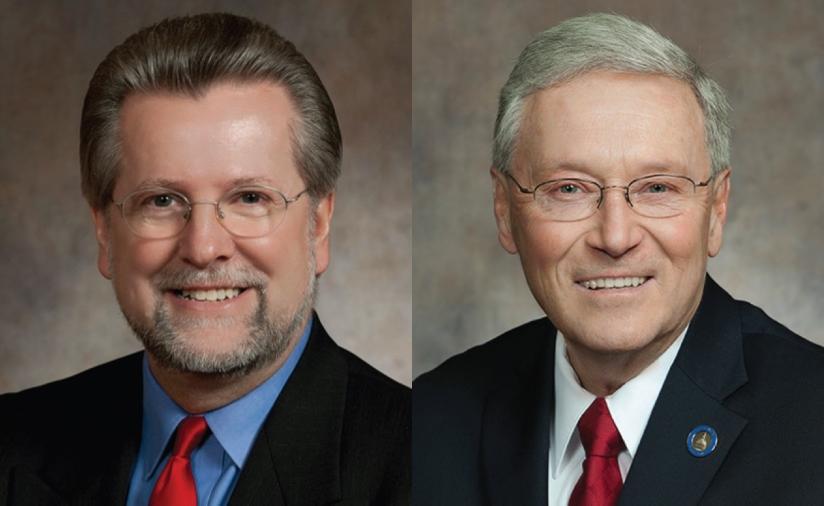 Rep. Warren Petryk, of Eleva, and Sen. Terry Moulton, of Chippewa Falls