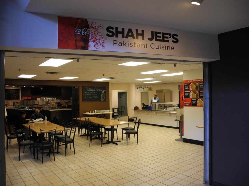 Shah Jee's. Photo taken December 12th, 2017 by Laura Thompson.