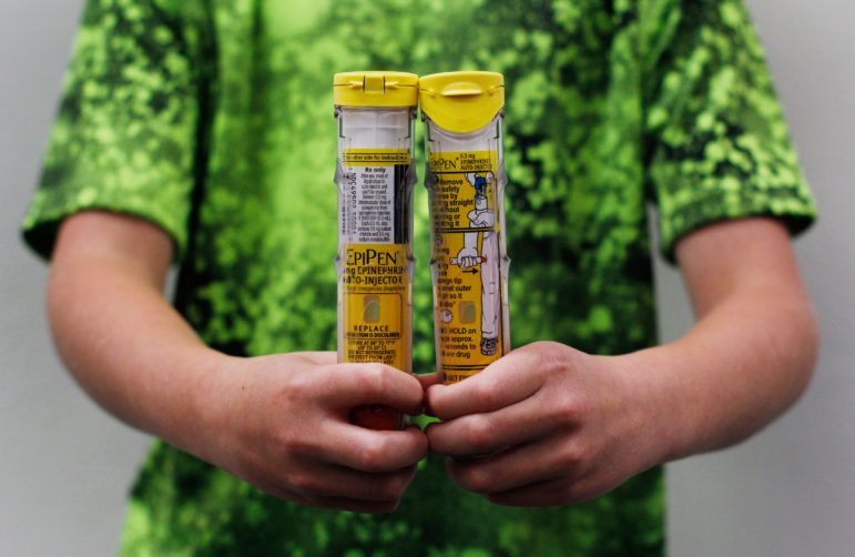 Wisconsin is slated to receive $3.4 million as part of a nationwide settlement for allegedly underpaying rebates it owed to the Medicaid program with the makers of EpiPen, a drug used to counteract severe allergic reactions. A whistleblower organization calculates Wisconsin could have earned an additional $695,000 if lawmakers and Gov. Scott Walker had not repealed the state's False Claims Act in 2015. Photo by Coburn Dukehart / Wisconsin Center for Investigative Journalism.