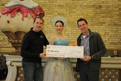 Milwaukee Ballet Dances Into The Holiday Season With Help From Tourism Grant