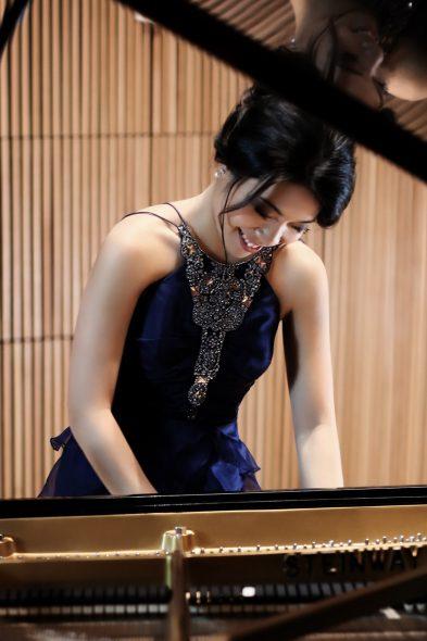 Joyce Yang. Photo courtesy of the Milwaukee Symphony Orchestra.